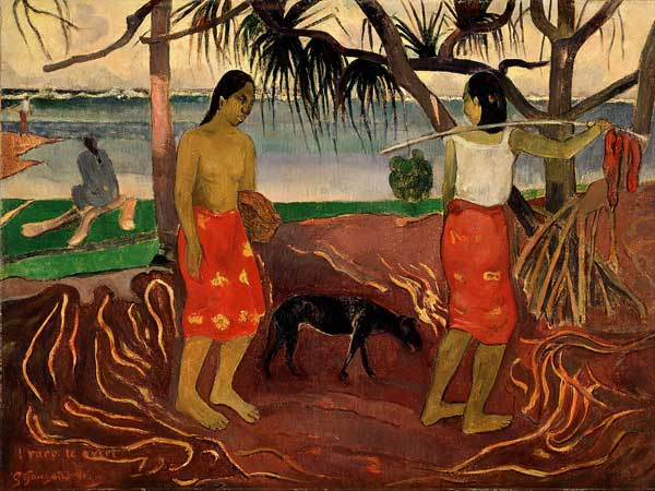 I raro te oviri (I) (Under the Pandanus I) 1891