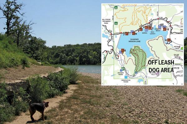 Shawnee Mission Park Dog Off Leash Area