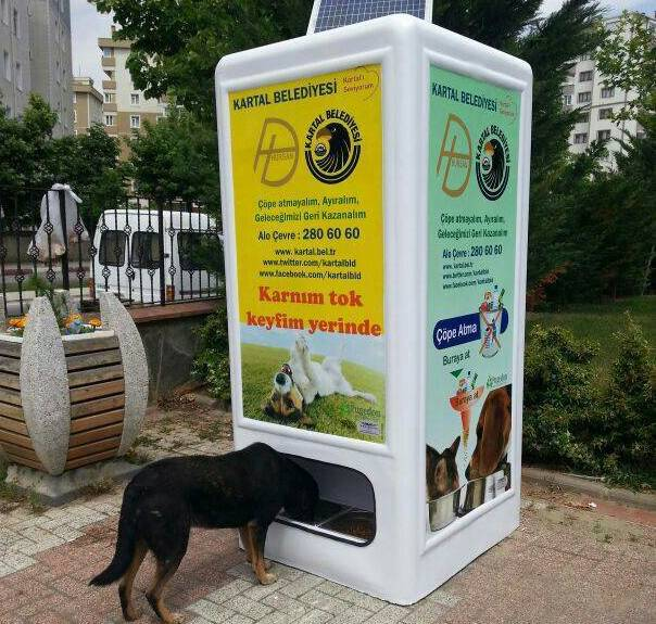 solar powered vending machine