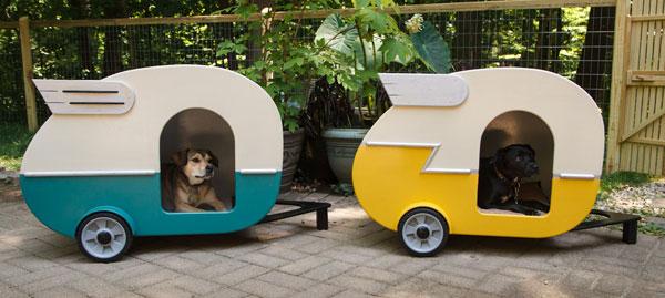 Diy Shasta Style Puppy Camper Playhouse The Bark