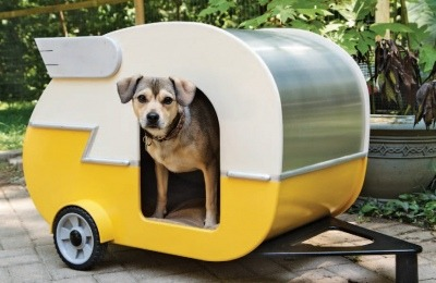 DIY Doggy House - Shasta Style