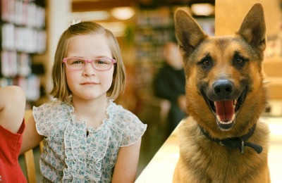 fundraising $20,000 to sponsor a mine detection dog