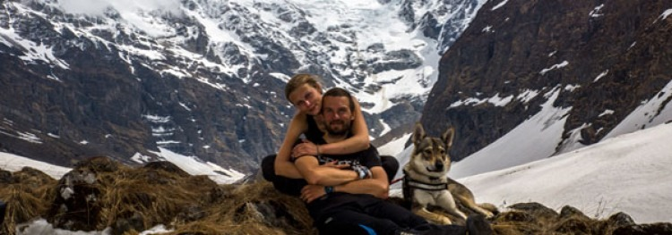 Family Portrait in Himalayas