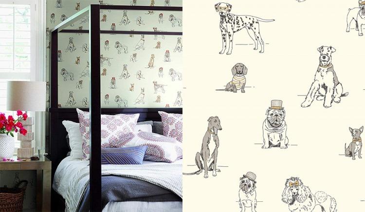 Bark Likes This 4 Dog Themed Wallpaper Ideas The Bark