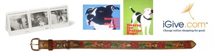 Dog Days Perpetual Calendar, Hooray for Shelter Dogs Cards, iGive, Freedom Tails