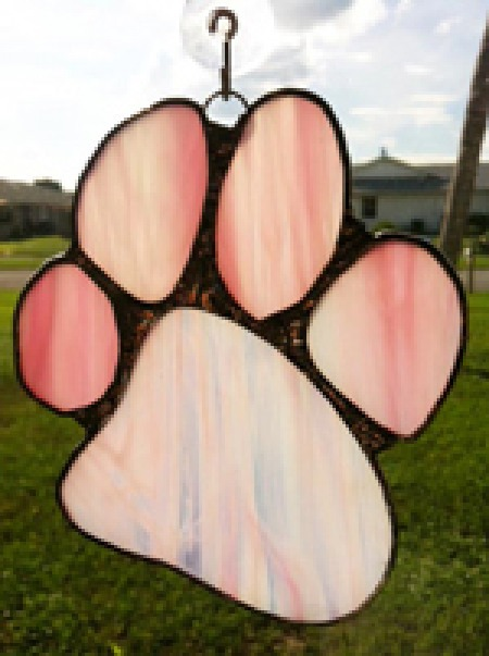 pink paw canine cancer